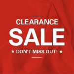 Merchanise clearance sale
